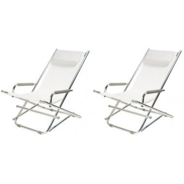 Chaise longue pas cher chez loft attitude for Chaises longues blanches