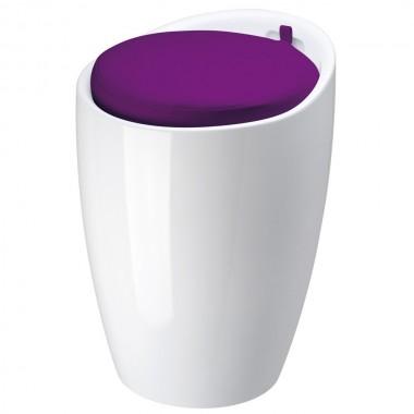 achetez votre tabouret hibou blanc pas cher sur loft attitude. Black Bedroom Furniture Sets. Home Design Ideas