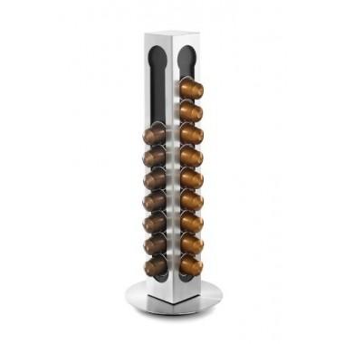 Distributeur de capsules Nespresso en inox Zack (40cps)