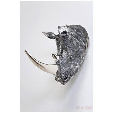Tête de Rhinocéros déco antique