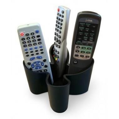 Range télécommande design noir