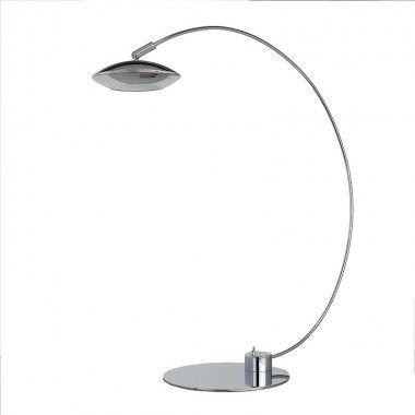Lampe de bureau à LED métal chromé Sompex