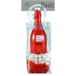 SAC A GLACON ICE BAG TRANSPARENT