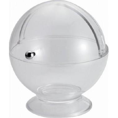 Mini sucrier boule acrylique Transparent