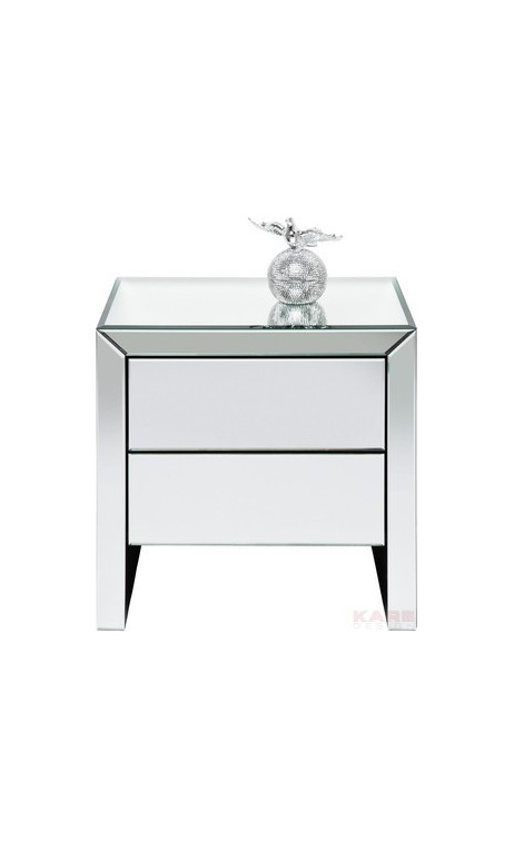 Achetez votre table de chevet design miroir real dream 2 - Table de chevet design ...