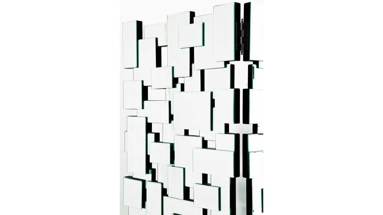 achetez votre paravent design miroir maze 180 x 150 pas. Black Bedroom Furniture Sets. Home Design Ideas