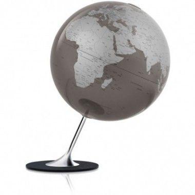 Globe terrestre anglo slate