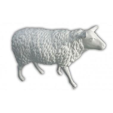 Statue mouton blanc grandeur nature