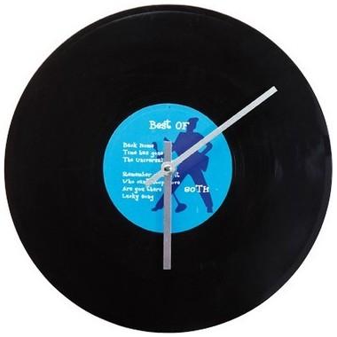 Horloge disque vinyle 30 cm