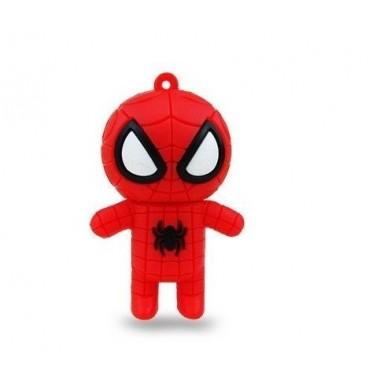 Clé USB 8 GO Spiderman rouge