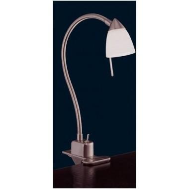 Lampe de Bureau Halogène Design Cappa à Pince