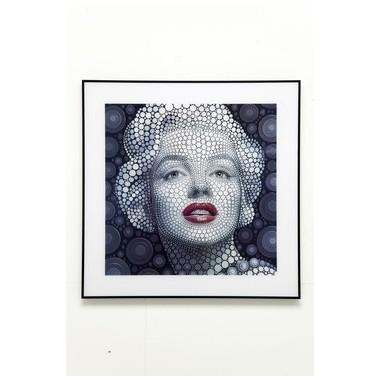 Tableau Marilyn Monroe lenticulaire 3D 60x60 cm