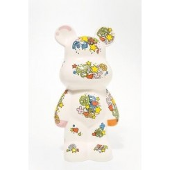 TIRELIRE ART TOYS FUNKI BEARS BLANC KARE DESIGN
