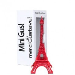 TOUR EIFFEL MINI GUS ROUGE TORO MERCI GUSTAVE