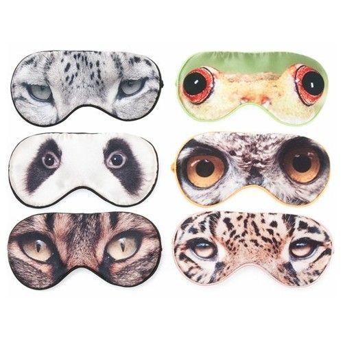 Masque de nuit léopard