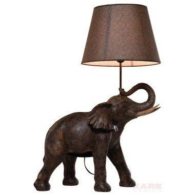 Lampe de table éléphant safari Kare Design