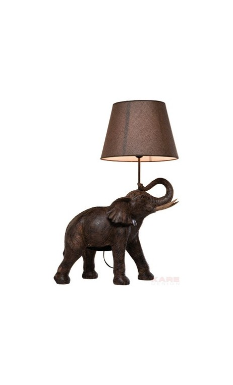 achetez votre lampe de table l phant safari kare design pas cher. Black Bedroom Furniture Sets. Home Design Ideas