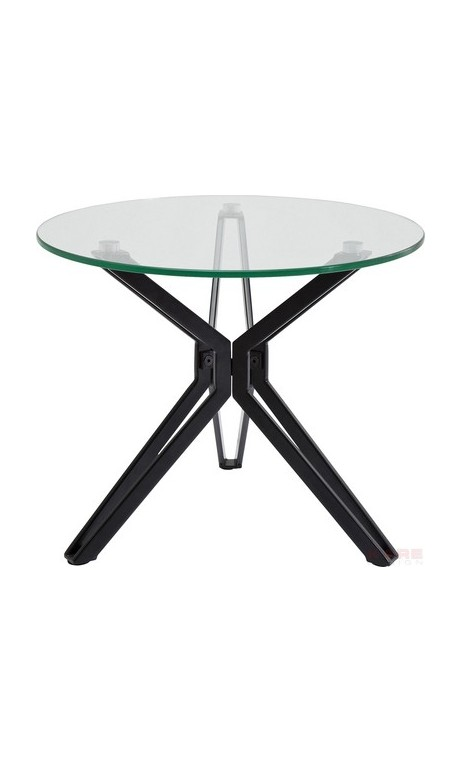 Table d'appoint industriel ronde Garbo 55 cm