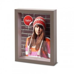 Cadre photo Shades marron 13 x 18