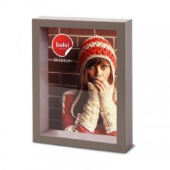 Cadre photo Shades marron 20 x 25