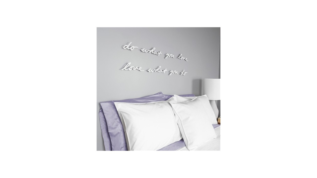 D coration mural mantra umbra do what you love for Decoration murale umbra