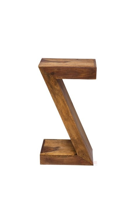 Table d'appoint Z Authentico en bois