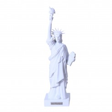 "Statue de la liberté blanche ""Miss Liberty White Spirit"""