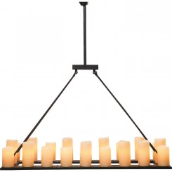 Suspension fausse bougies 20 candle light