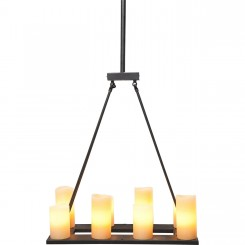 Suspension fausse bougies 8 candle light