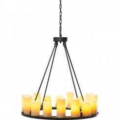 Suspension fausse bougies 16 candle light