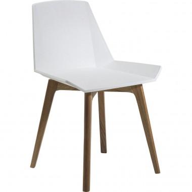 Chaise blanche GEOMETRIC KARE DESIGN