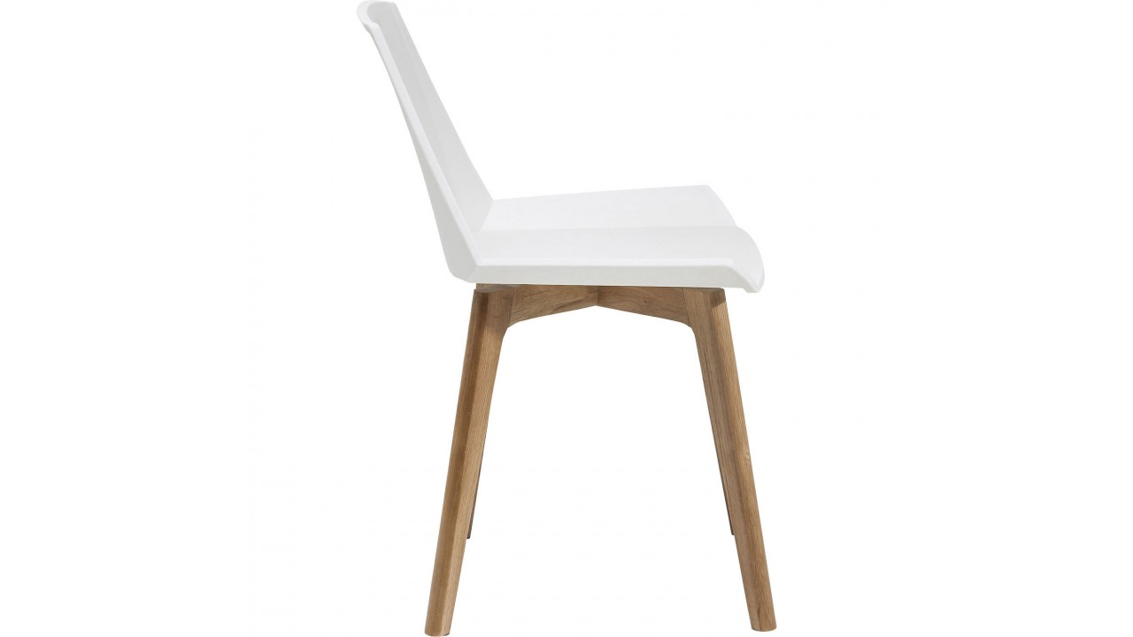 Chaise design pas cher blanche maison design for Chaise blanche design pas cher
