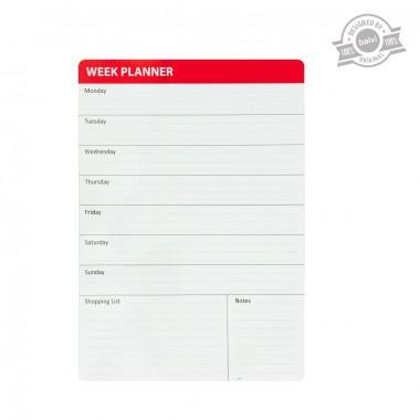 Tableau mémo magnétique Week Planner
