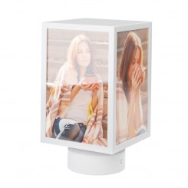 Cadre photos rectangulaire rotatif 10 x 15