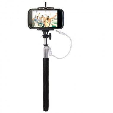 Support téléscopique pour Selfie avec câble