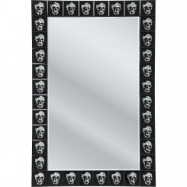 Miroir tête de mort ATTITUDE