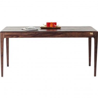 Table à manger rectangle bois noyer 175 Brooklyn