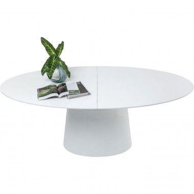Table à manger ronde extensible 200 Benvenuto