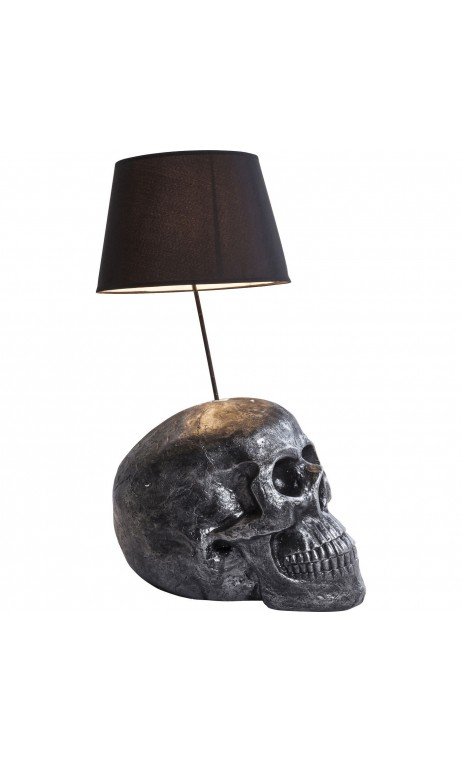 achetez votre lampe poser t te de mort rockstar by geiss pas cher sur loft. Black Bedroom Furniture Sets. Home Design Ideas