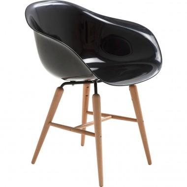 Chaise design noir avec accoudoirs Forum