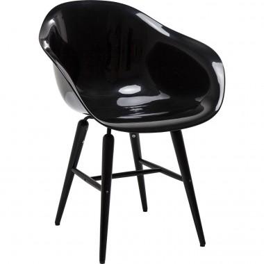 Chaise design all black avec accoudoirs Forum
