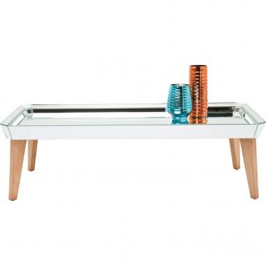 Table basse plateau miroir Heaven