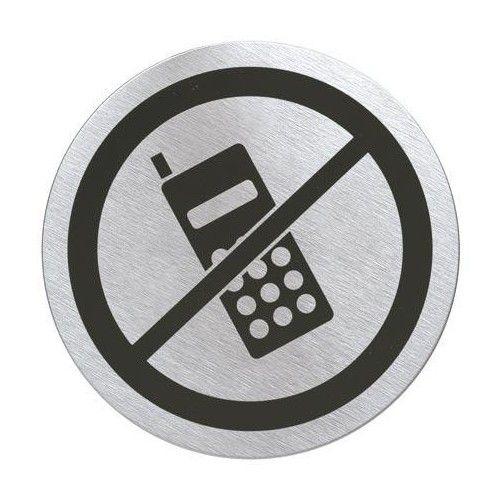 PANNEAU DE PORTE INTERDICTION DE TELEPHONER BLOMUS