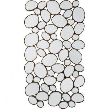 Miroir gouttes d'eau 135 cm Heaven Copper