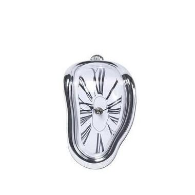 Horloge molle chromée à poser DALI